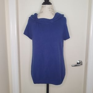 Saks 5th Cashmere VTG Royal Blue sweater top